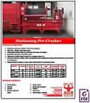 2 Yard Pre-Crusher Compactor Brochure