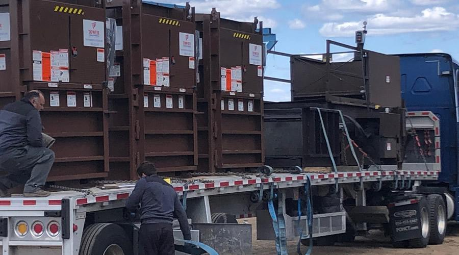 ACE Equipment Company has partnered with Tower Compactor Rentals (TCR)  as the exclusive rental agent for ACE's line of balers and compactors.