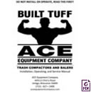 A-4 HD: Stationary Compactor Manual